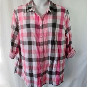 Allison Daley Shirt Sz 3X Double Sided Cotton